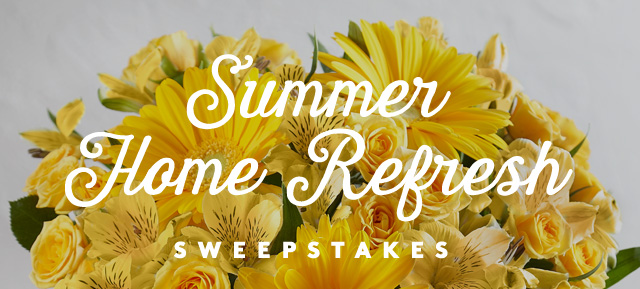 Summer Home Refresh Sweepstakes