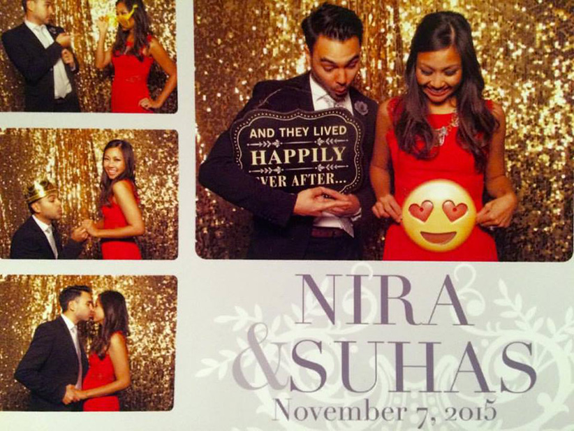Photo Booth Baby Announcement