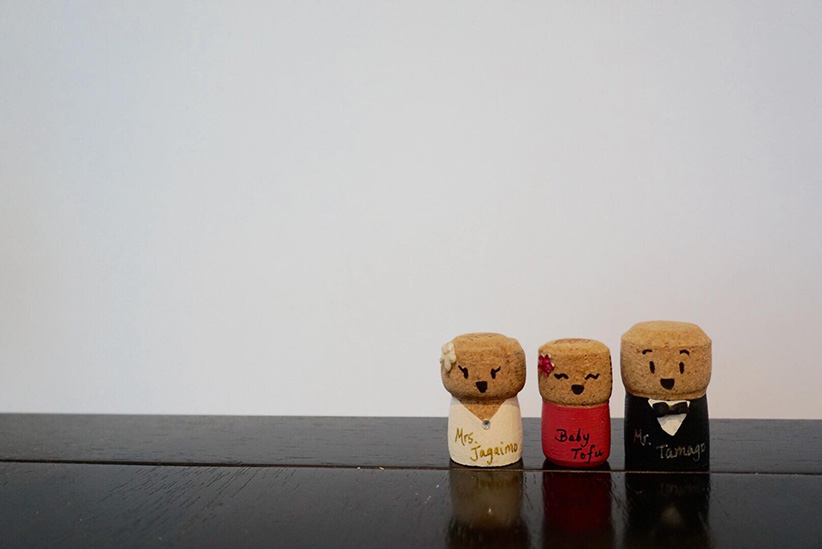 Wine Corks Baby Announcement