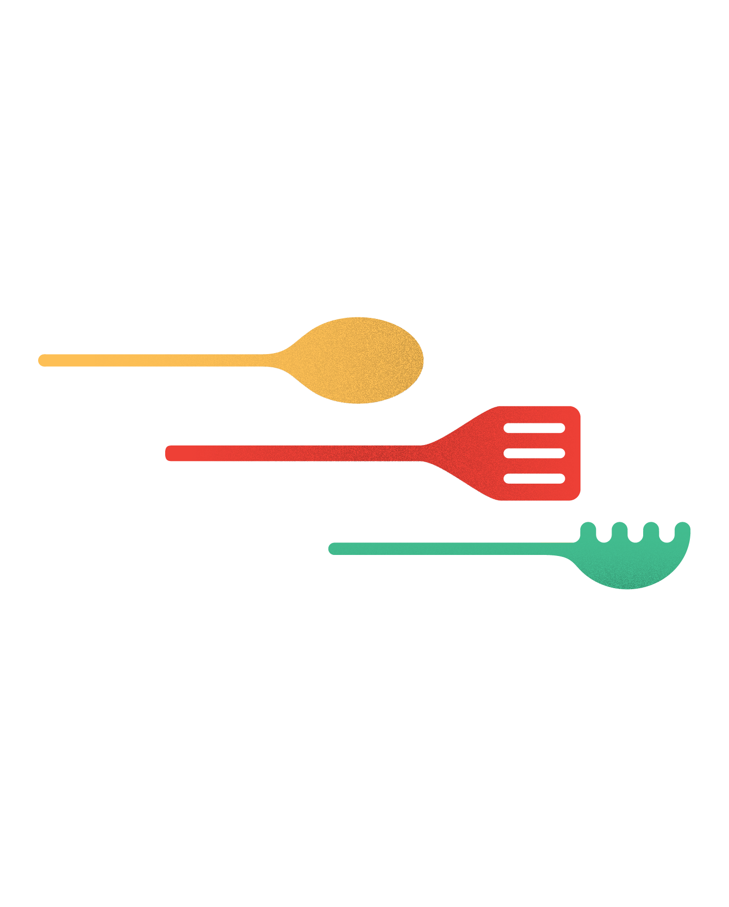 Illustration of cooking utensils
