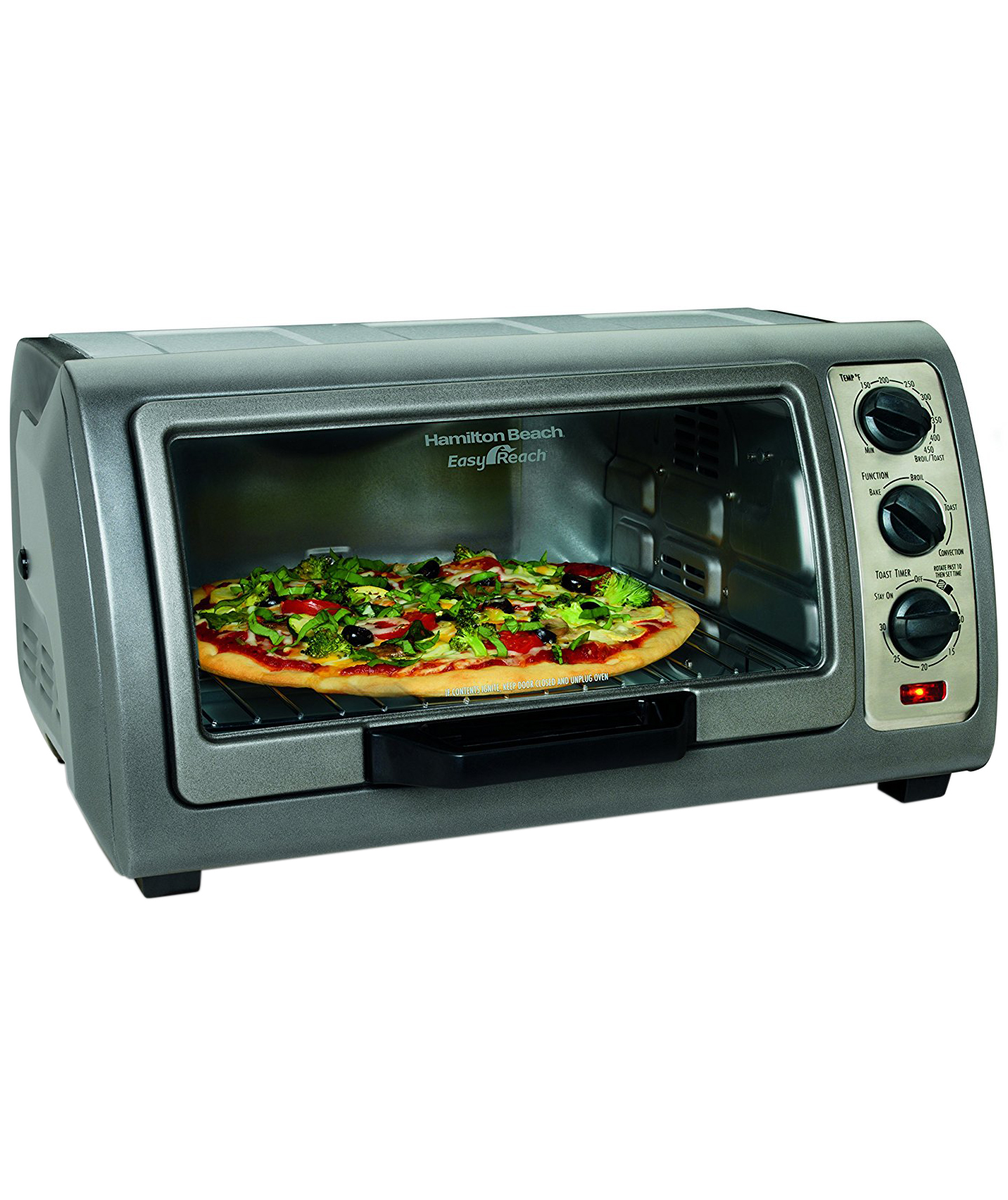 Hamilton Beach Easy Reach Oven with Convection
