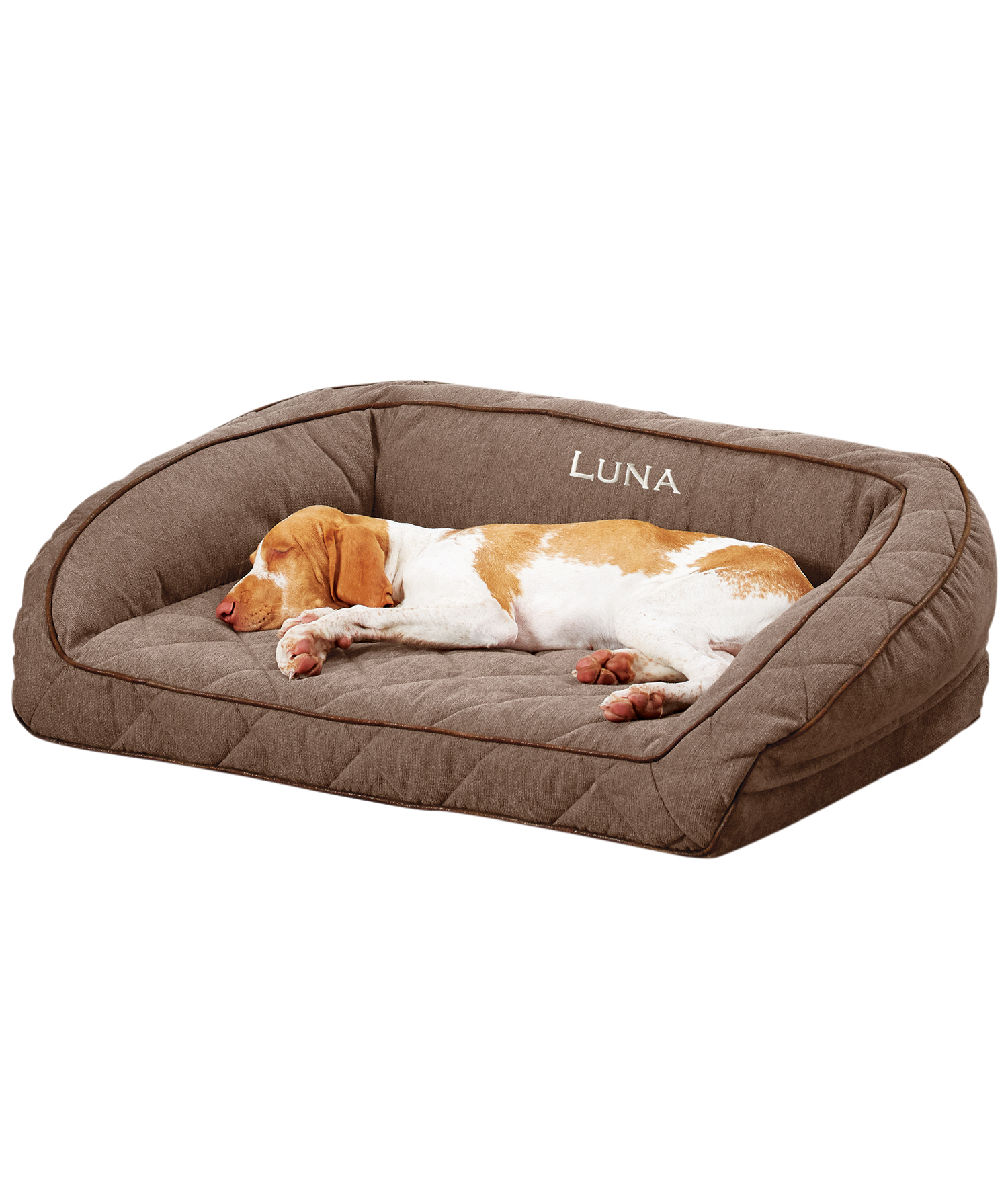 Orvis Airfoam Bolster Dog Bed Df