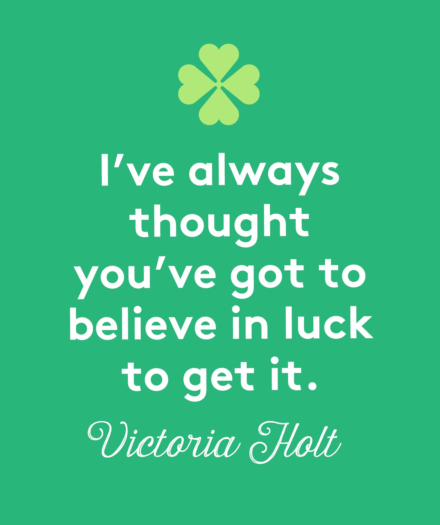 St. Patrick's Day Quotes, Holt