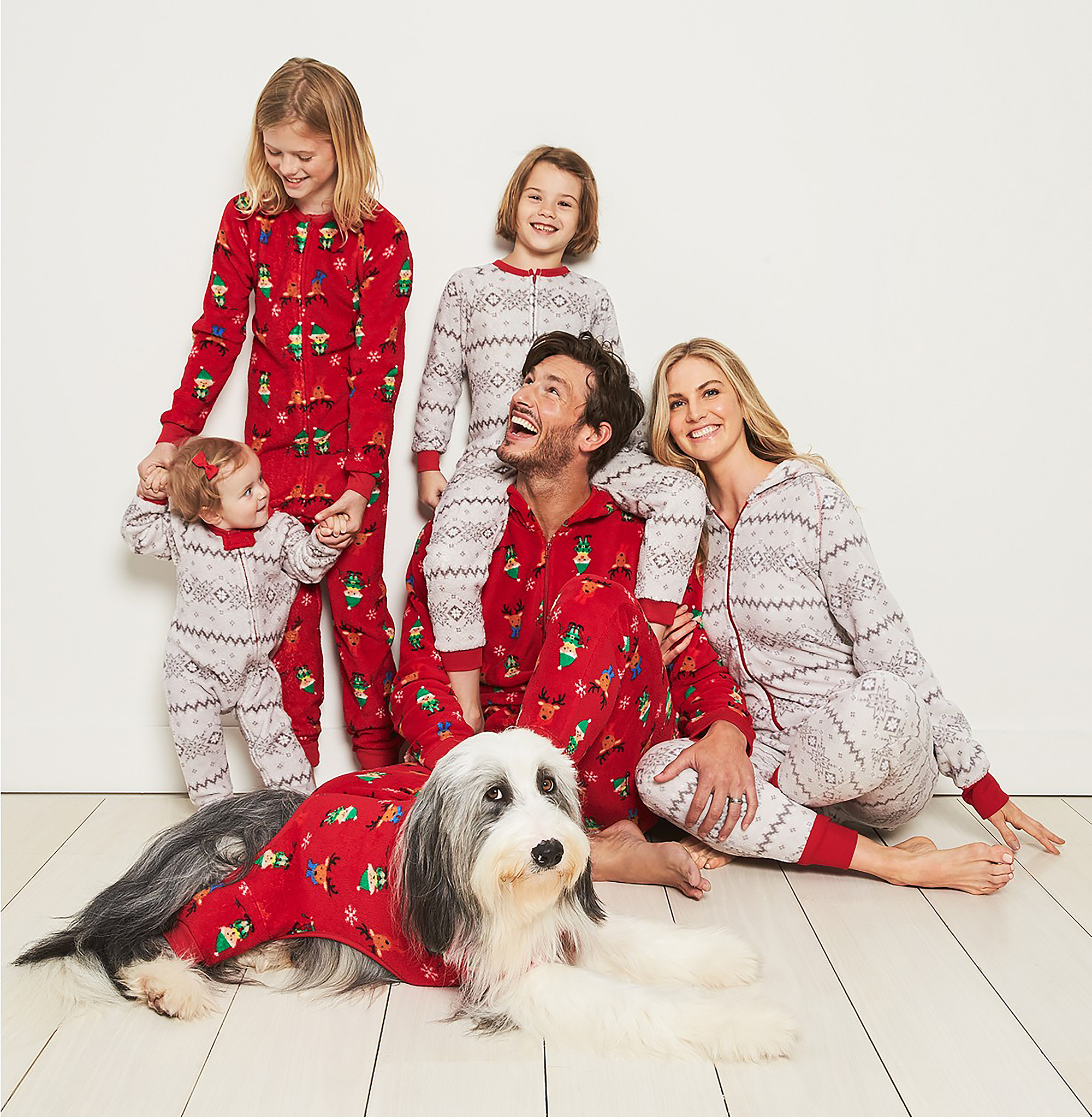 3a82e5d59408 The Best Matching Family Christmas Pajamas for 2018