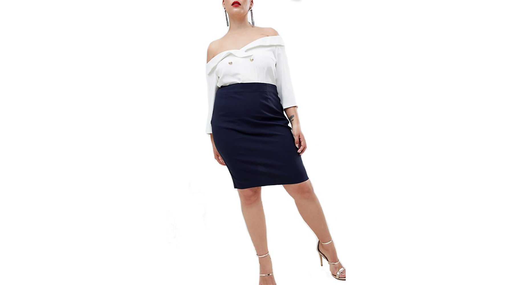 42002d76e Damenmode NWT SPANX FAUX LEATHER PENCIL SKIRT Black #2019R High Waist  Slimming $118 size S
