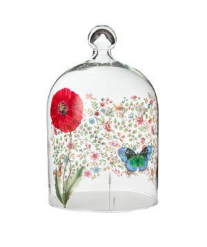 Poppy and Butterfly Cloche