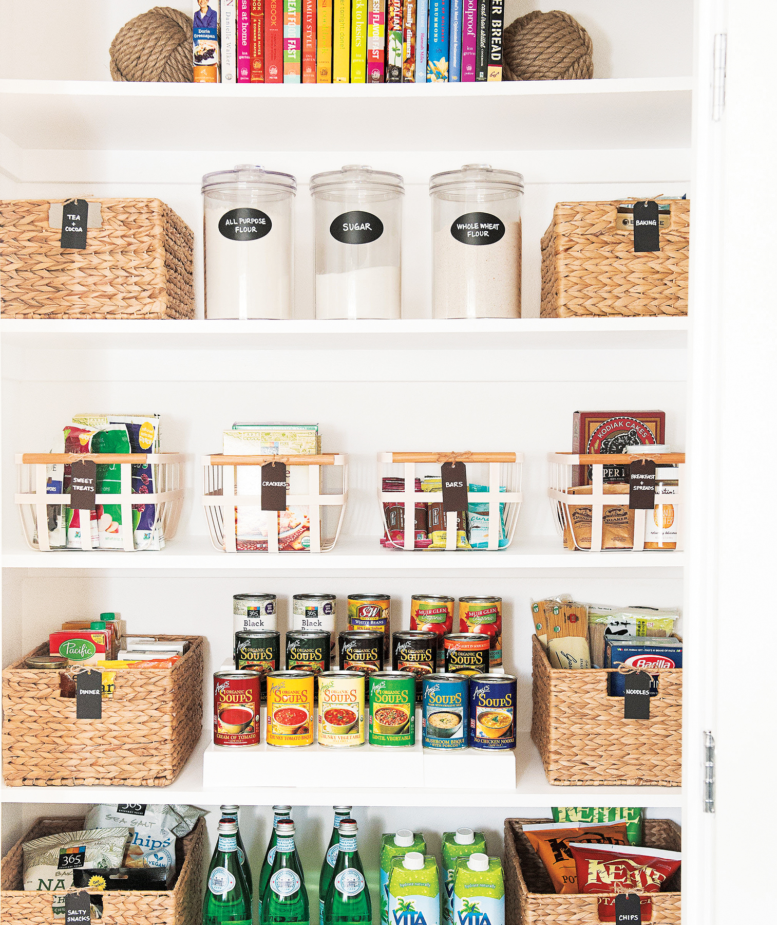 Effective Pantry Shelving Designs For Well Organized: Real Simple