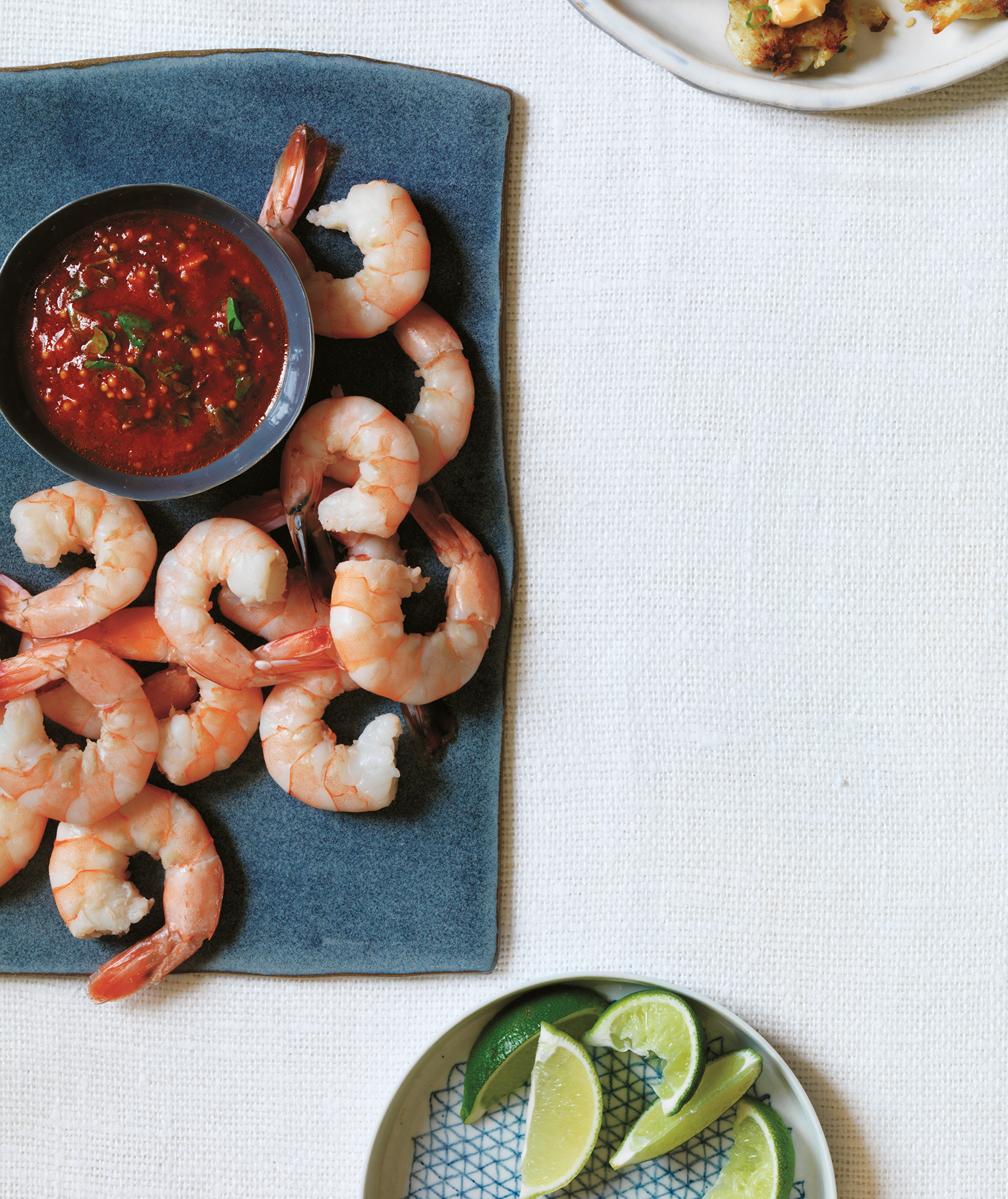 Shrimp With Spiced Cocktail Sauce (10 Hacks to Free Up Oven Space for Christmas Dinner)