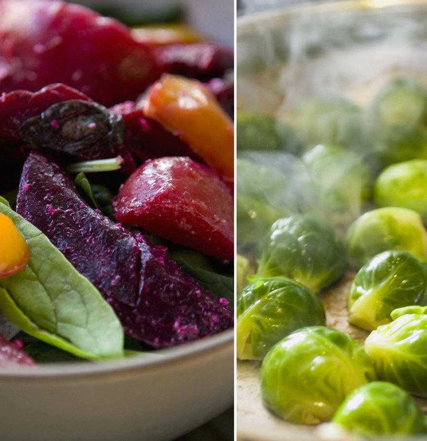 Trending Tastes - Beets and Brussels Sprouts