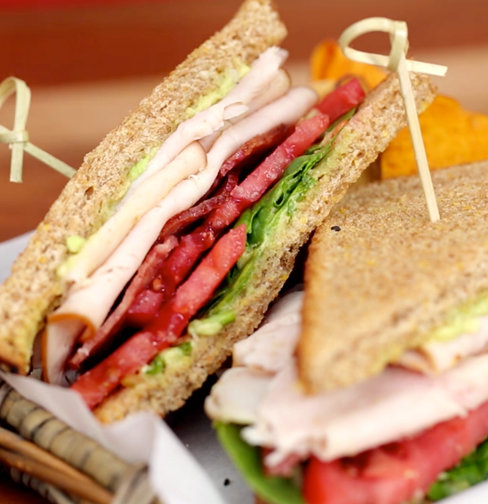 Healthy Turkey Club