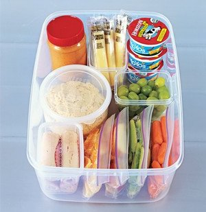 Grab-and-Go Snack Stashes for Kids