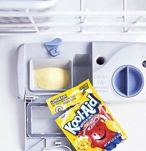 Kool-Aid Can Clean Your Dishwasher