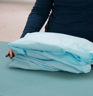How To: Fold a Fitted Sheet