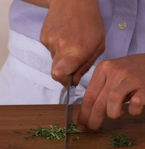 How To: Chop Rosemary and Thyme