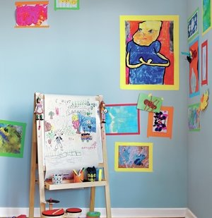 3 Ways to Display Kids' Artwork