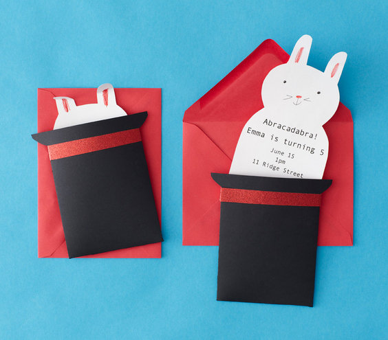 How To: Make the Invite | Birthday Party Theme: Magic | Real Simple