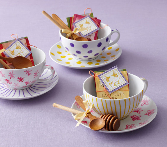 The Favors Bridal Shower Theme Creative Tea Party Ideas Real