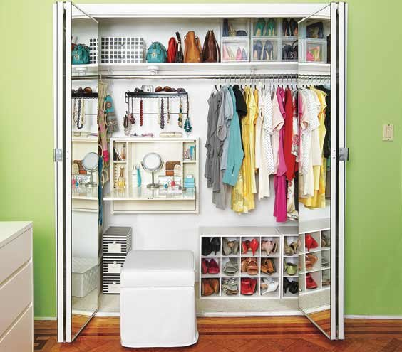 closet design ideas real simple