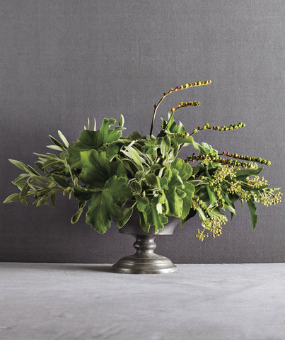 All green grouping 5 beautiful do it yourself flower for Do it yourself flower arrangements