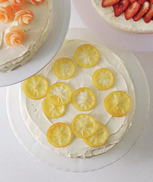 Candied Lemons | 6 Easy Cake-Decorating Ideas | Real Simple