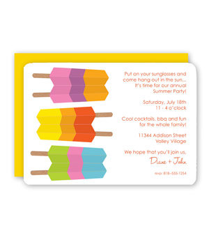 Rock Scissor Paper Striped Ice Pops | 8 Summer Party ...