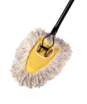 Cotton Dust Mop | The Best Classic Cleaners | Real Simple