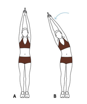 Move 2 The Standing Side Stretch 6 Full Body Stretching