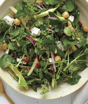 Watercress and Bean Salad With Almonds and Ricotta Salata ...