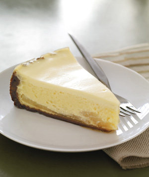 Gingersnap-Pear Cheesecake | Get the recipe for Gingersnap-Pear Cheesecake.
