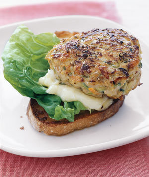 Turkey Burgers With Zucchini and Carrot Recipe | Real Simple