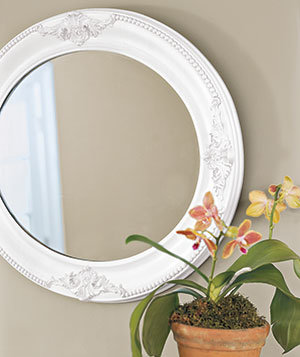 Painted Or Finished Wood Mirror Frames Easy Paint