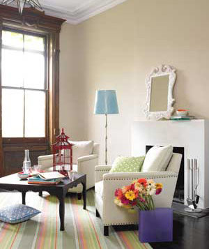 Bring In Flowers Living Room Decorating Ideas Real Simple