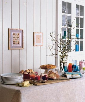 For a sunday brunch buffet how to set a pretty table for Table 52 sunday brunch