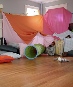 Get Everyone Involved Amazing Blanket Fort Ideas Real Simple