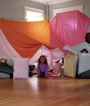 Build Your Own Amazing Blanket Fort Ideas Real Simple