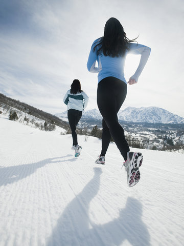 how to exercise outside—even when it's freezing cold