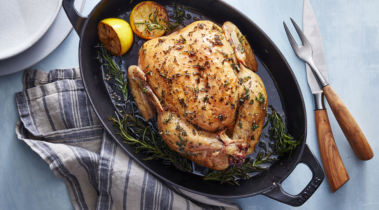Clone of Slow-Roasted Lemon Herb Chicken