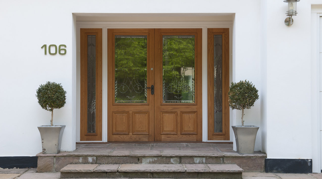 Front Entrance House Numbers