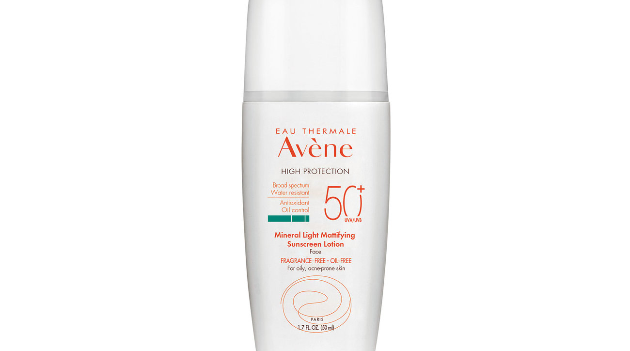 Avène Mineral Light Mattifying Sunscreen Lotion SPF 50+ (0618RTB)