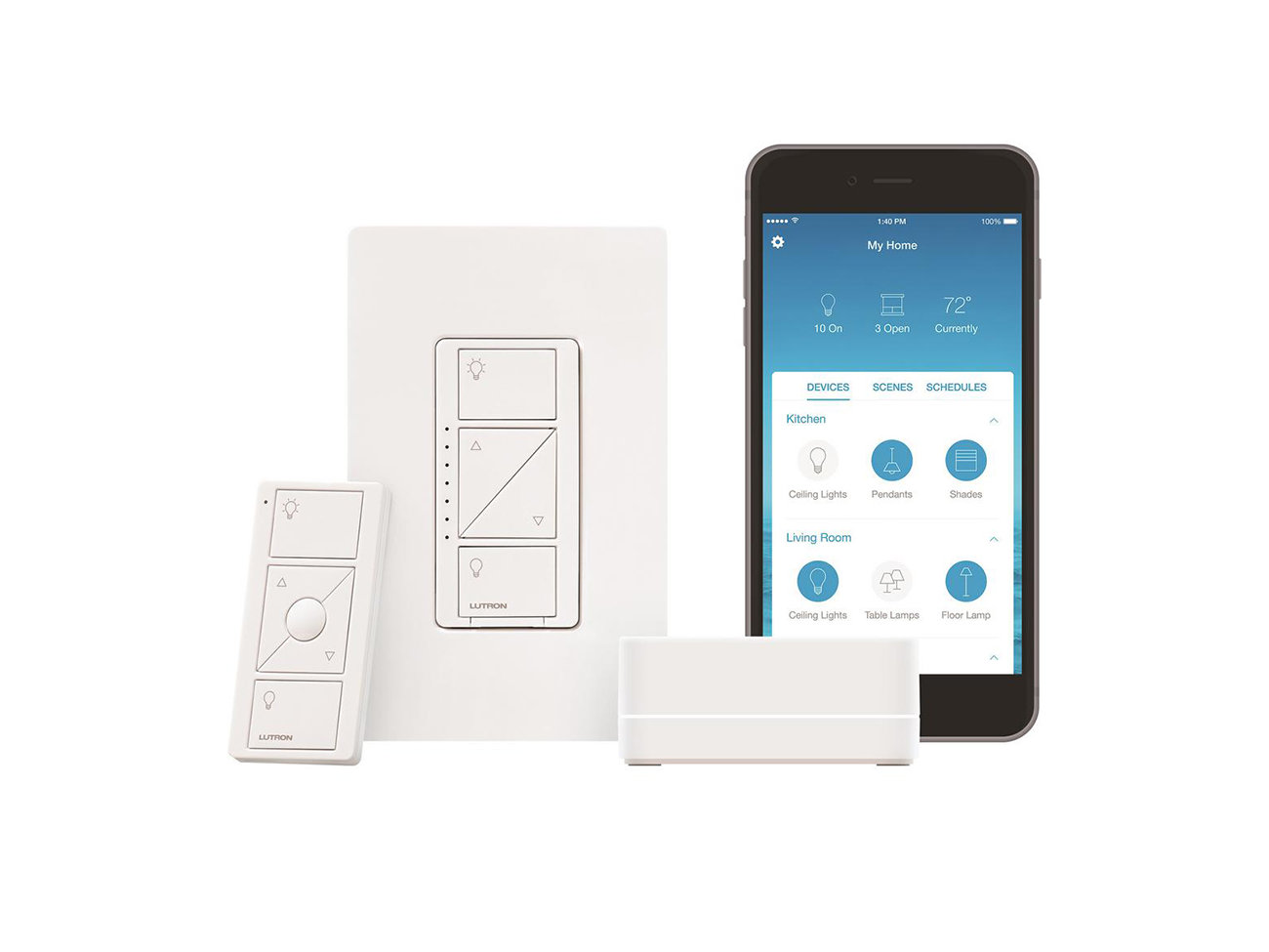 Caseta Wireless Smart Lighting Dimmer Switch Starter Kit