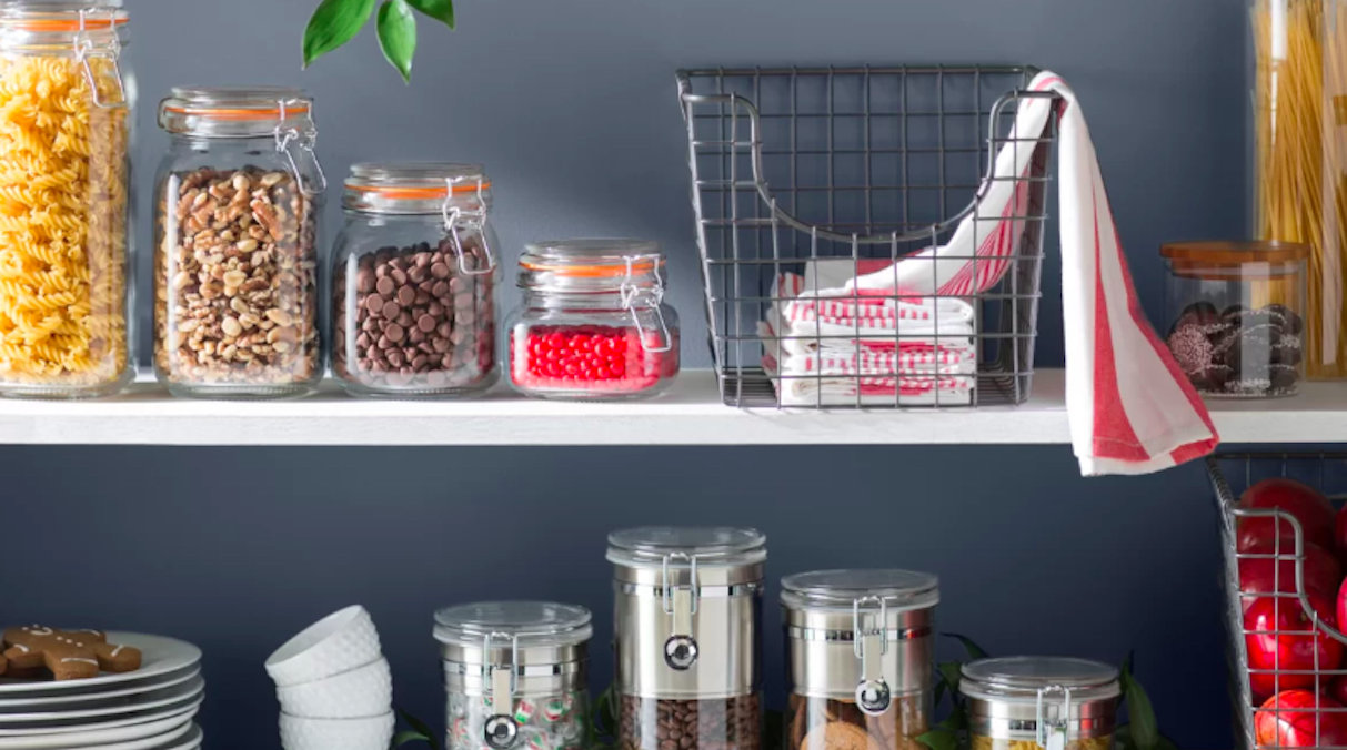 Food Storage Containers on Counter