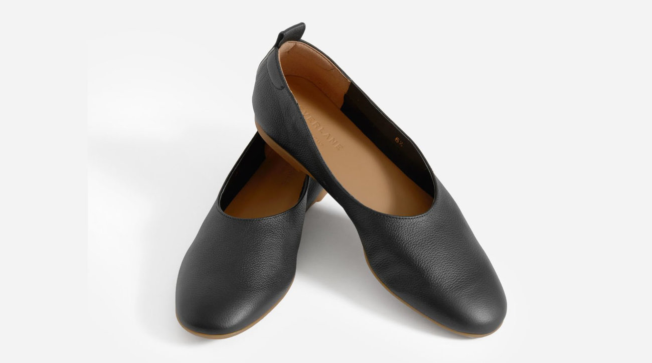 Everlane Day Glove Flats in Black