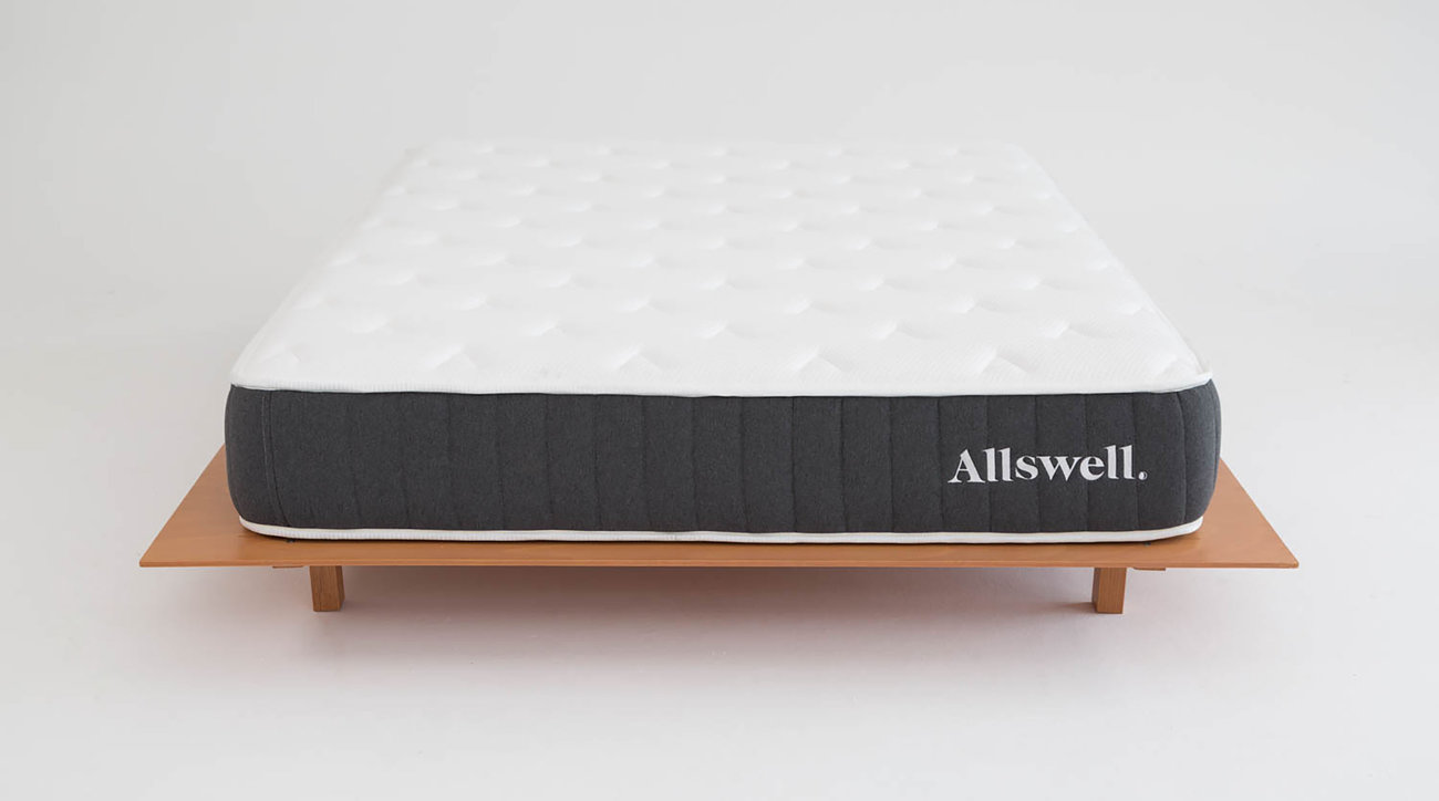 The Allswell 10-Inch Bed in a Box Hybrid Mattress