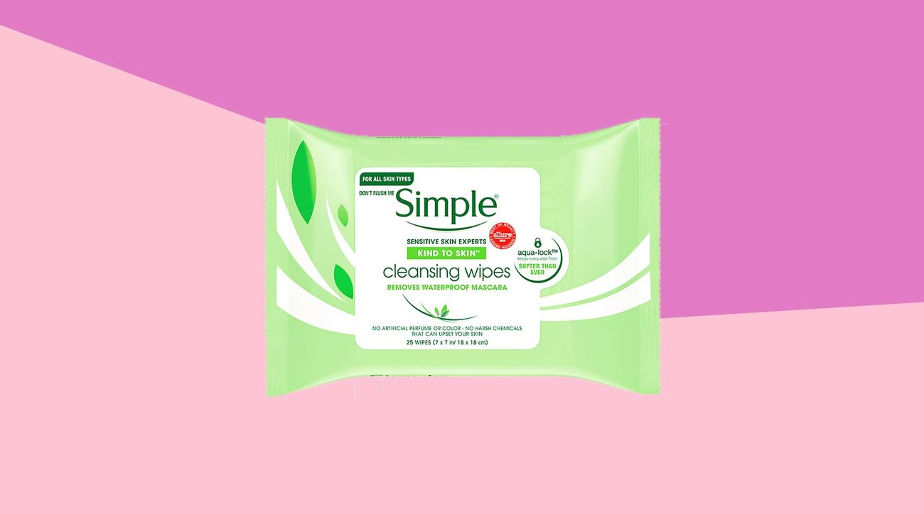 Tout: Simple Kind to Skin Cleansing Facial Wipes (1218BDI)
