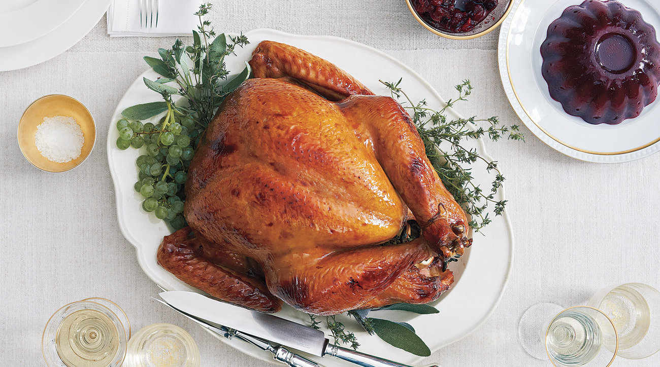 Cider-Glazed Turkey -- Thanksgiving turkey mistakes