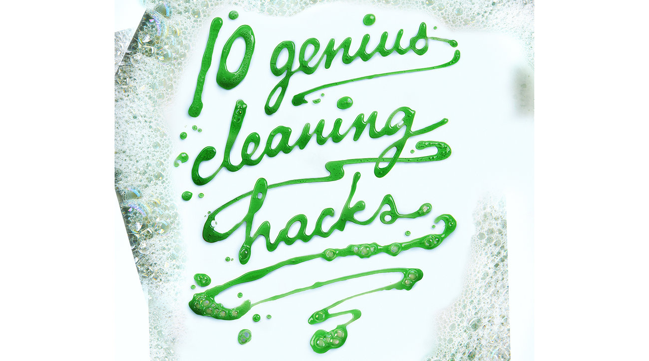 10 Genius Cleaning Hacks