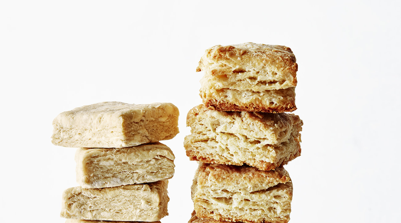 Golden Flaky Biscuits
