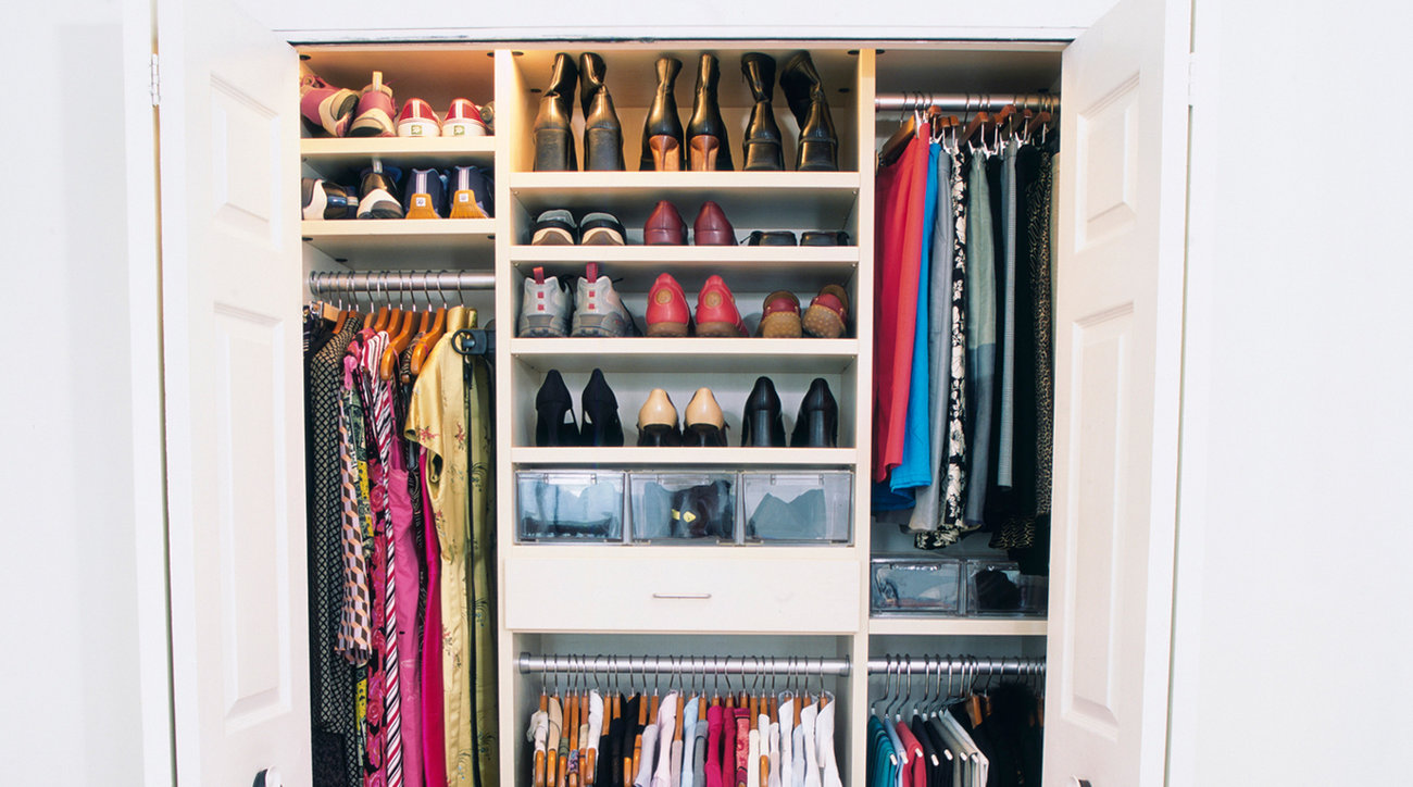 how to organize shoes in open closet   How to Organize Shoes: Our Best Tips Ever