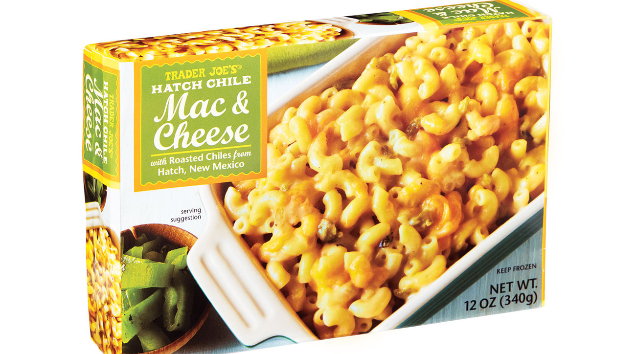 Trader Joe's Hatch Chile Mac & Cheese (0518RTF)