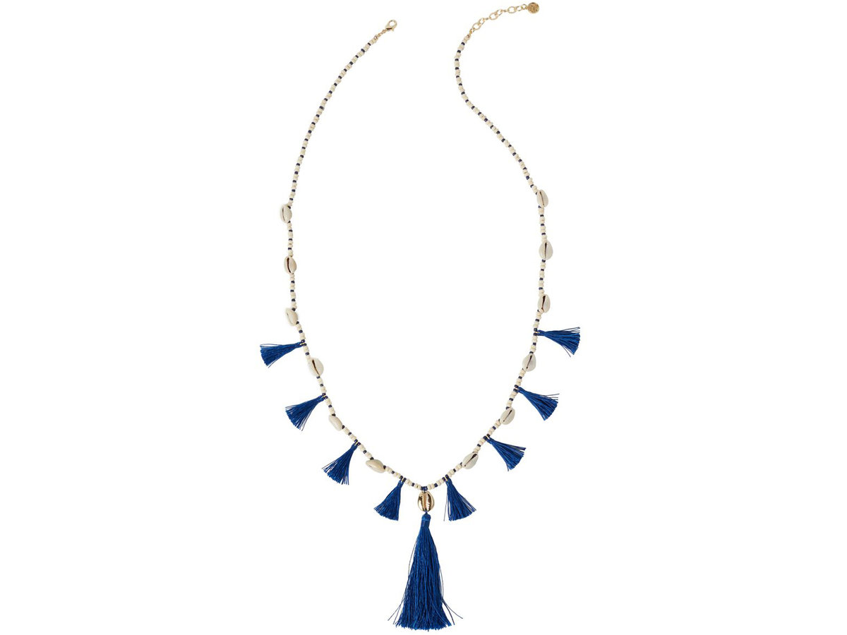 Tipsee Tassel Necklace. Thank You Necklace